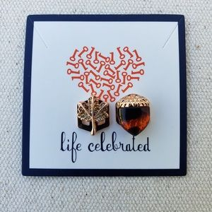 Keep Collective *Leaf & Acorn Charm Set* RETIRED